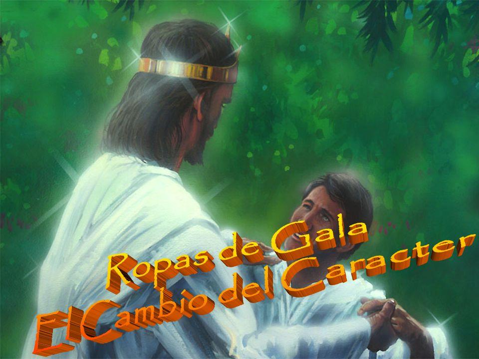 Zacarías 3:4 4 Y habló el ángel, y mandó a los que estaban delante de él, diciendo: Quitadle esas vestiduras viles.