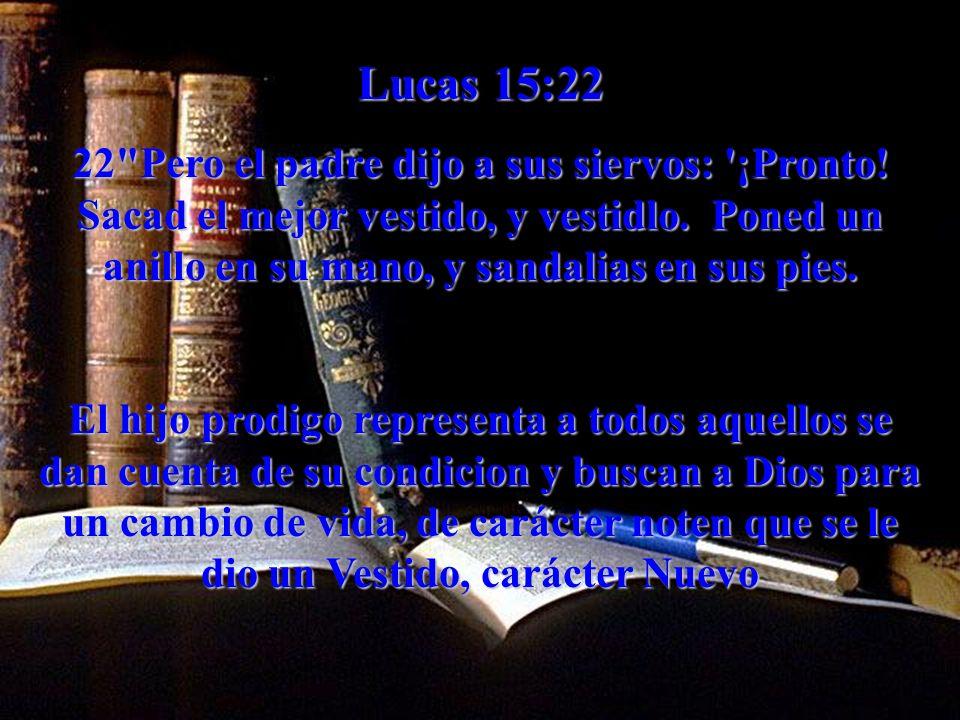 Lucas 15:22 22