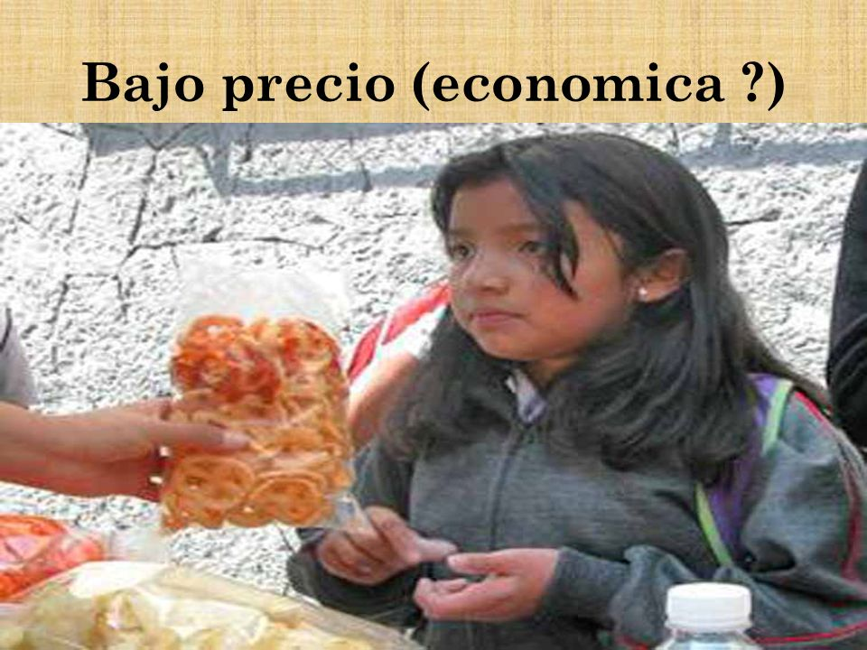 Bajo precio (economica ?)