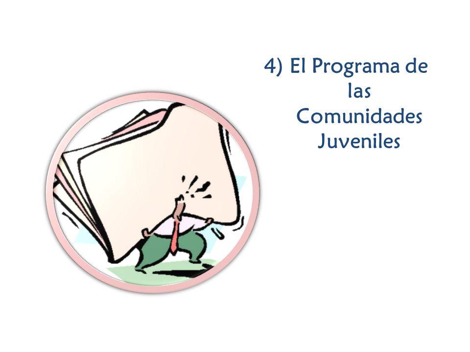 4) El Programa de las Comunidades Juveniles