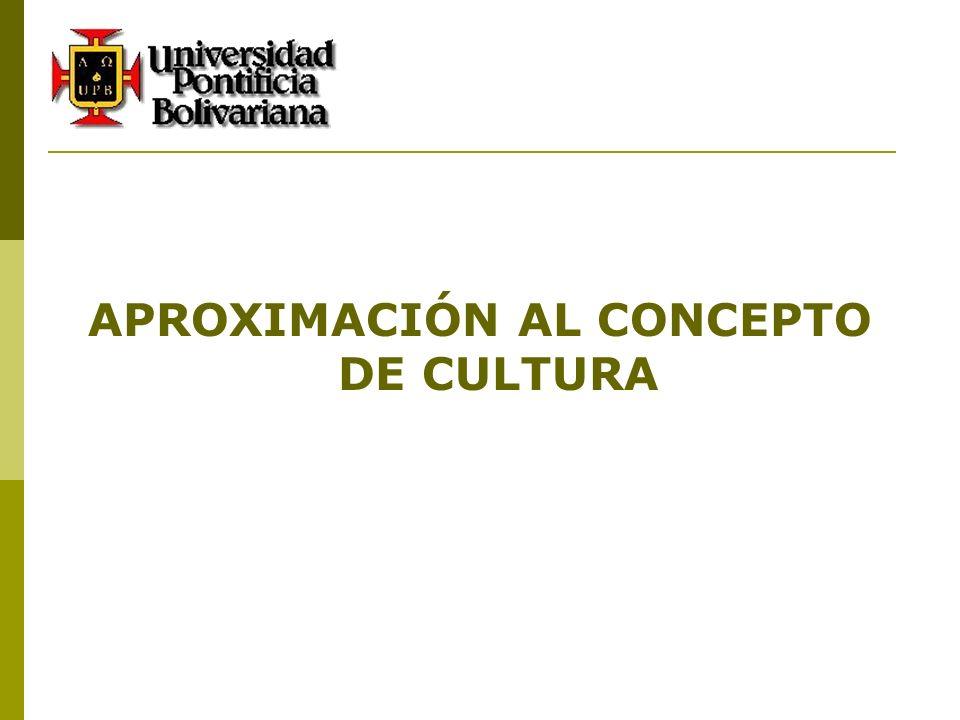 DEFINICIÓN DE CULTURA CULTURA Del Verbo latino Colere = Cultivar.