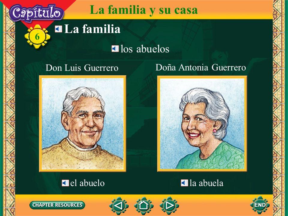 6 La familia