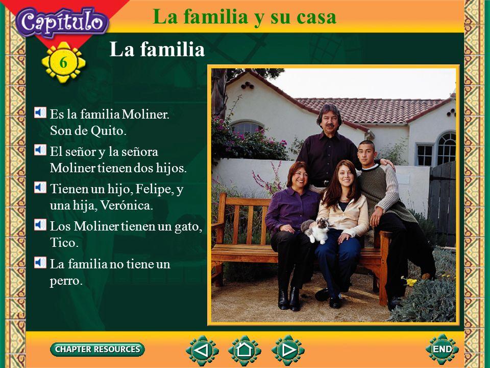 La familia La familia y su casa 6 el perro Merlin
