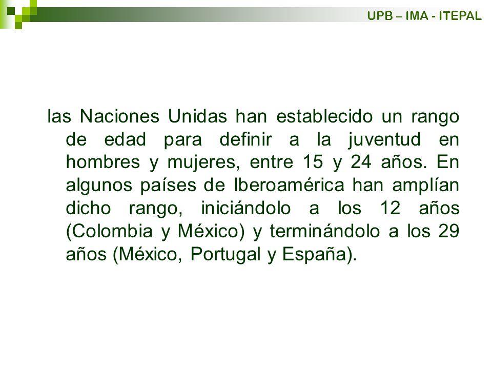 En torno de 2002, en América Latina más de la mitad (el 58%) de los jóvenes entre 15 y 29 años viven en familias nucleares, un 33% en familias extendidas, un 3,3% viven en familias compuestas, un 1% en hogares unipersonales y un 4,2% en hogares sin núcleo conyugal.