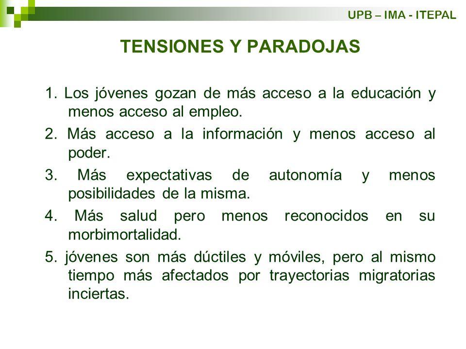 TENSIONES Y PARADOJAS 6.