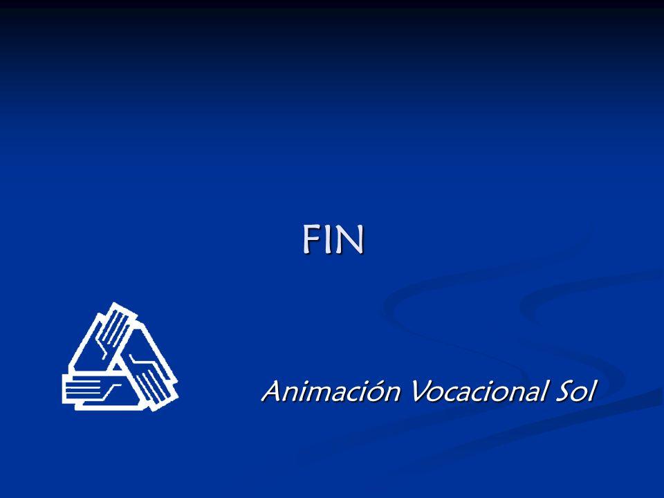 FIN Animación Vocacional Sol