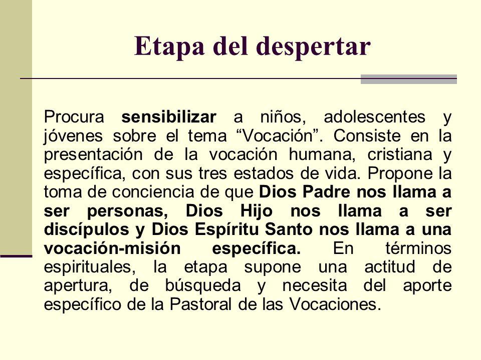 Segundo contenido: Dios Hijo nos llama a ser discípulos Tal llamado, en su dimensión bautismal o cristológica, es una vocación común a todos los cristianos.