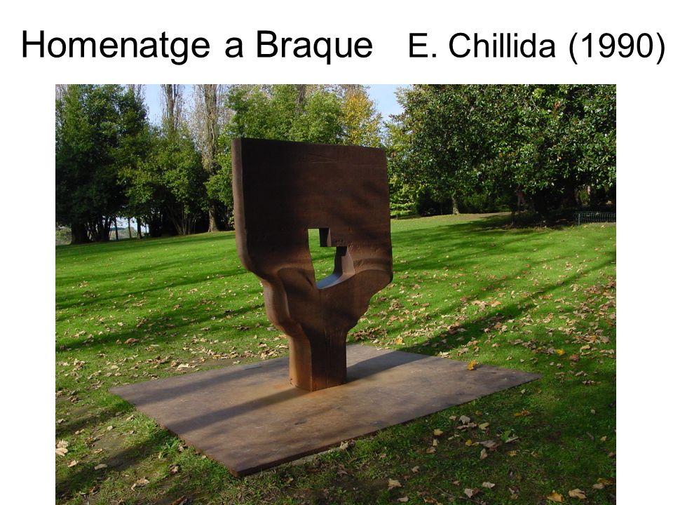 Homenatge a Braque E. Chillida (1990)