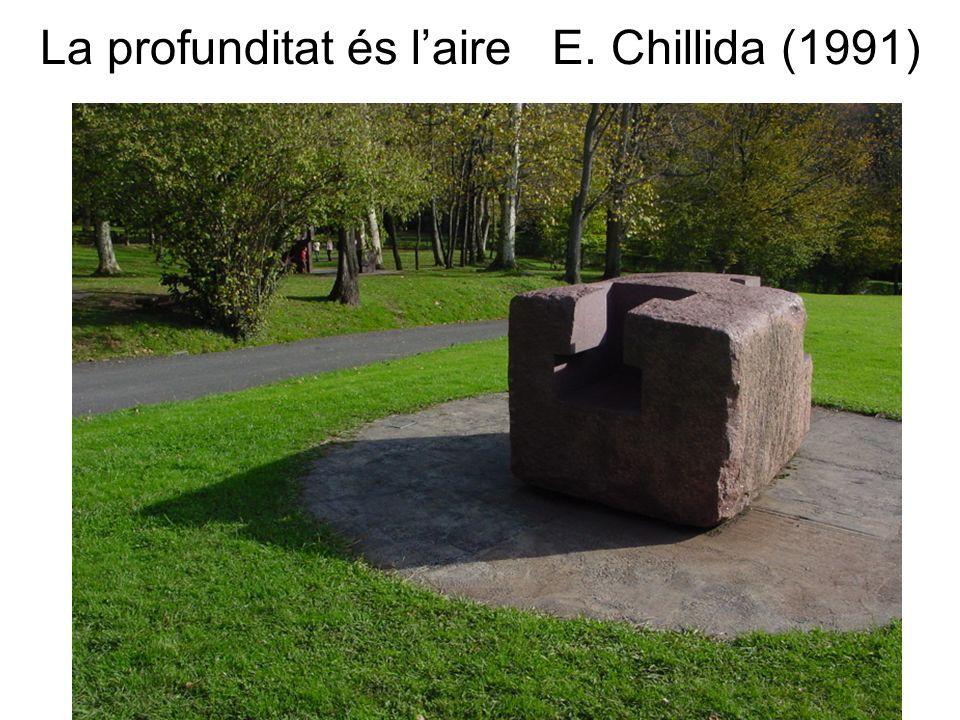 La profunditat és laire E. Chillida (1991)