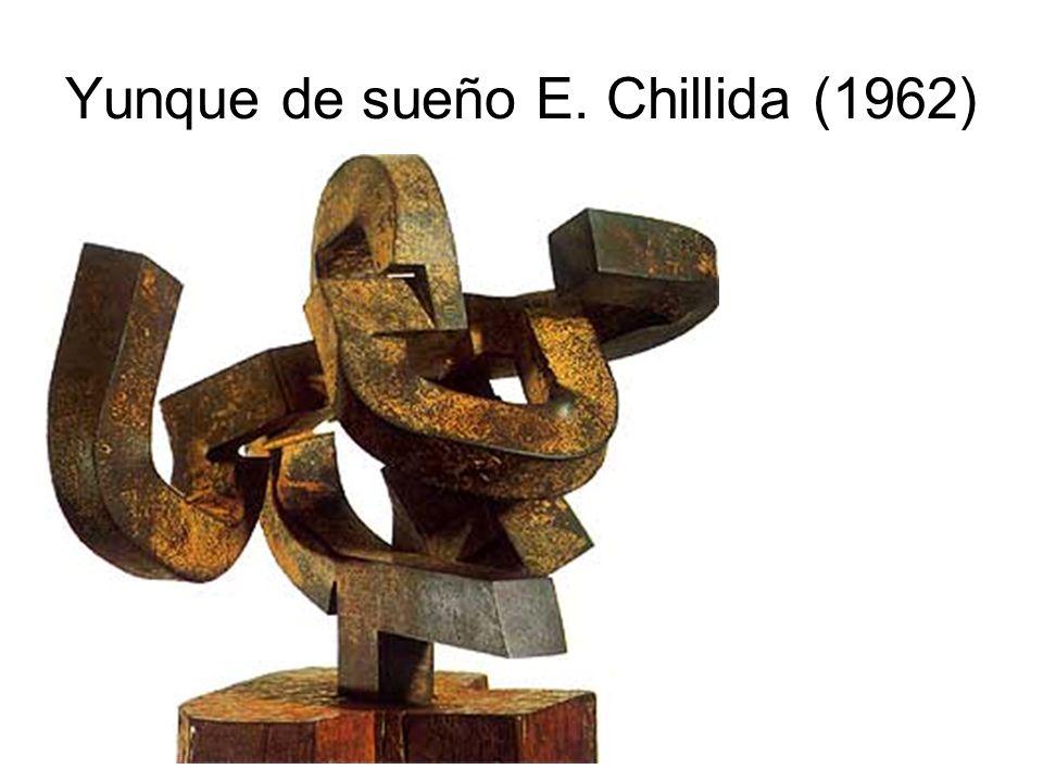 Yunque de sueño E. Chillida (1962)