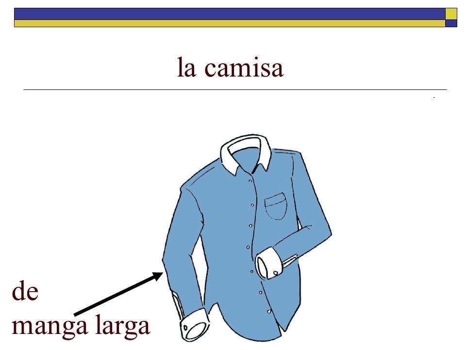 la camisa de manga larga