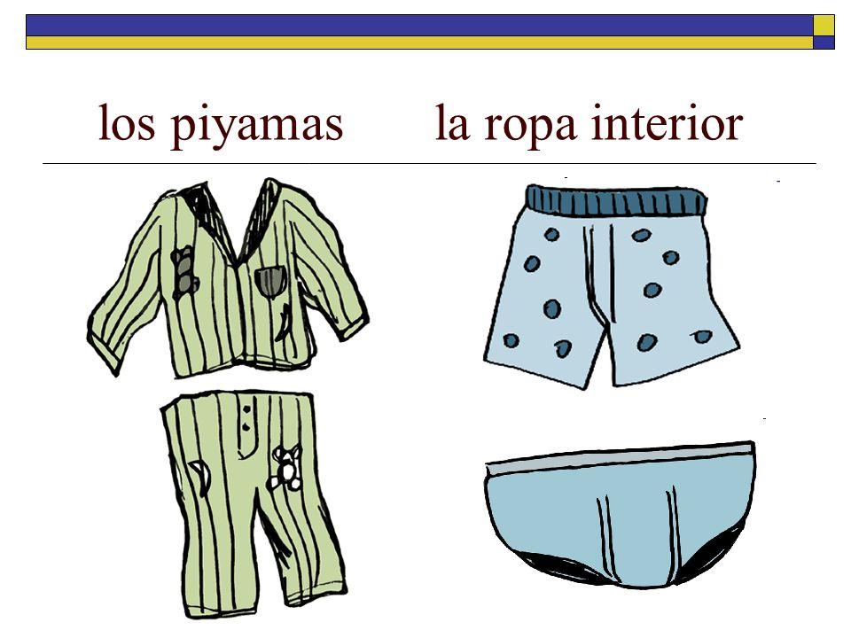 los piyamasla ropa interior
