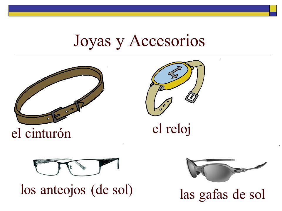 Joyas y Accesorios el cinturón el reloj los anteojos (de sol) las gafas de sol