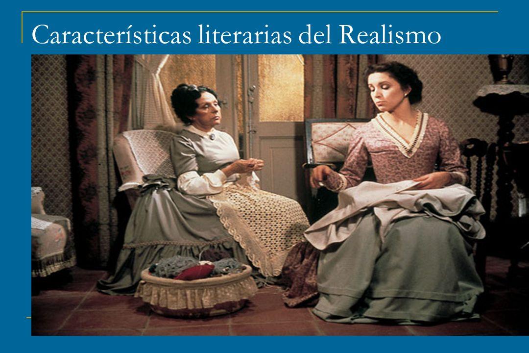 Características literarias del Realismo