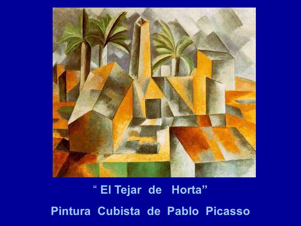 El Tejar de Horta Pintura Cubista de Pablo Picasso