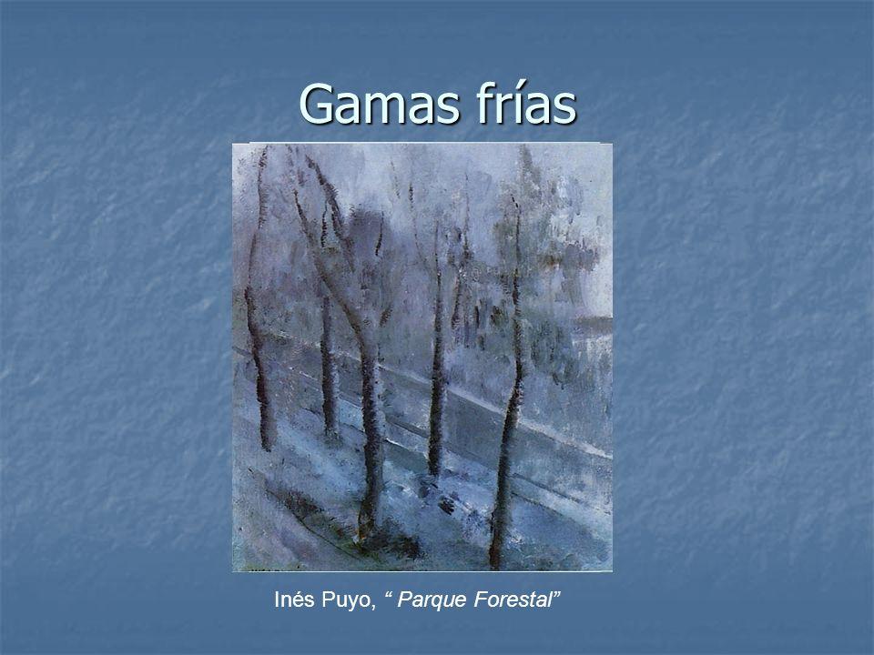 Gamas frías Inés Puyo, Parque Forestal