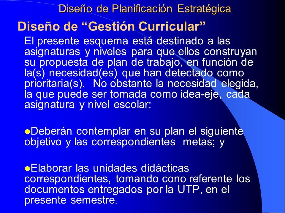 El presente esquema está destinado a las asignaturas y niveles para que ellos construyan su propuesta de plan de trabajo, en función de la(s) necesida