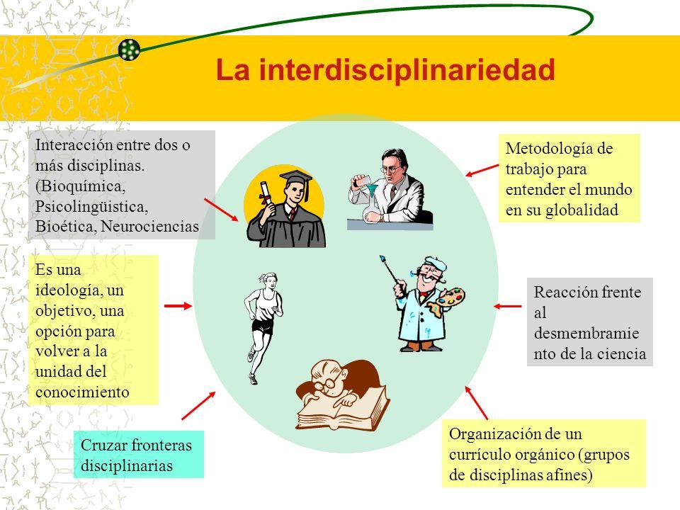 Concepción Integral del Currículo Aprendizaje Diseño y organización de la enseñanza Nuevas formas evaluativas del aprendizaje Replanteamiento epistemo