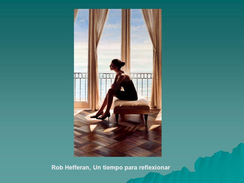 Rob Hefferan, Un tiempo para reflexionar