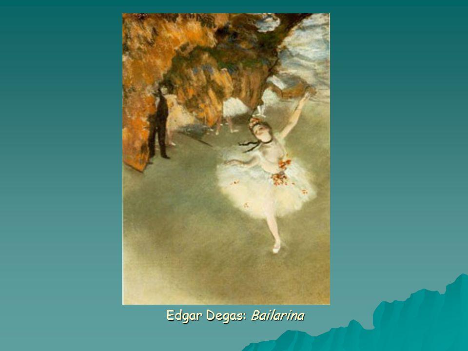 Edgar Degas: Bailarina