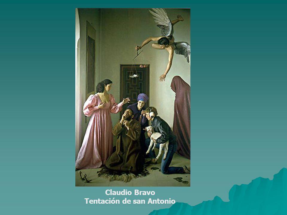 Claudio Bravo Tentación de san Antonio