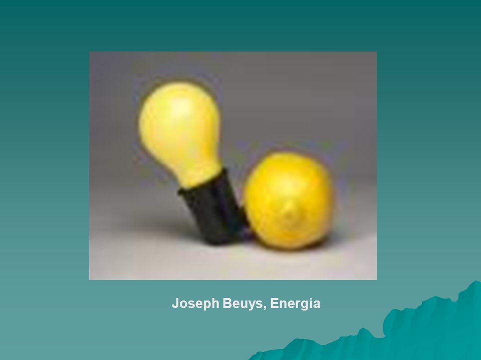 Joseph Beuys, Energia