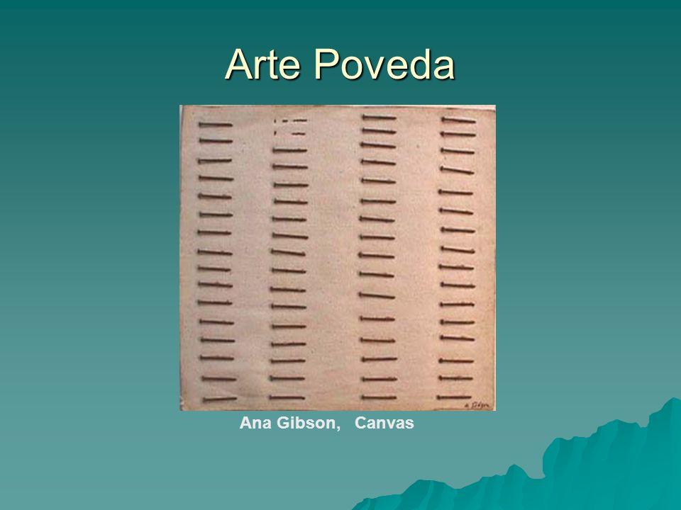 Arte Poveda Ana Gibson, Canvas