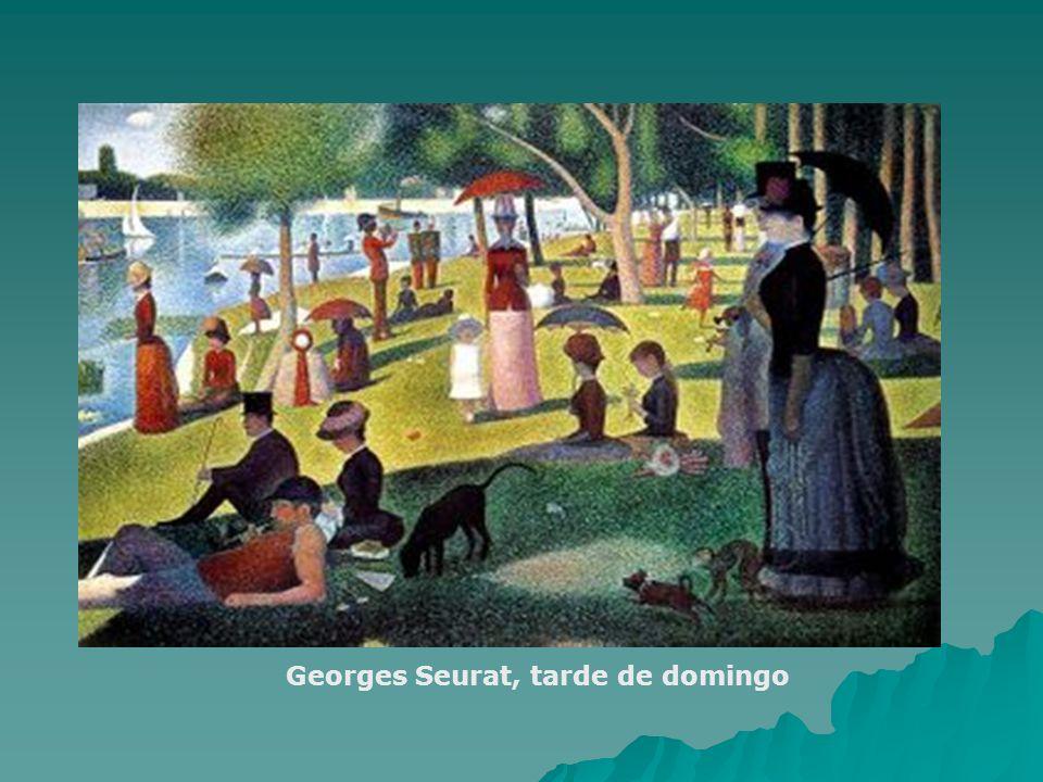 Georges Seurat, tarde de domingo