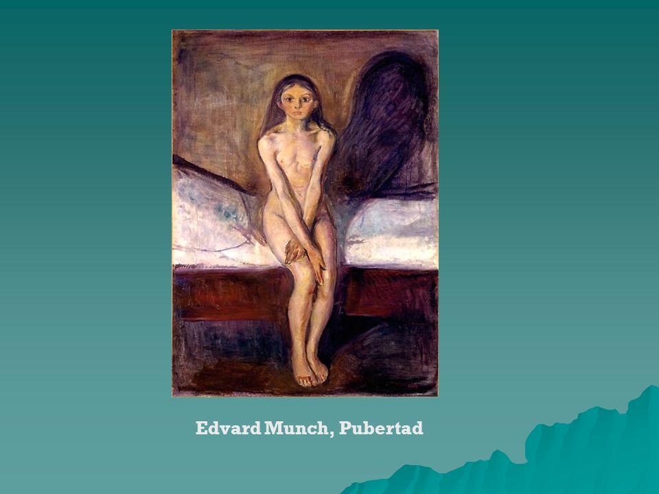 Edvard Munch, Pubertad