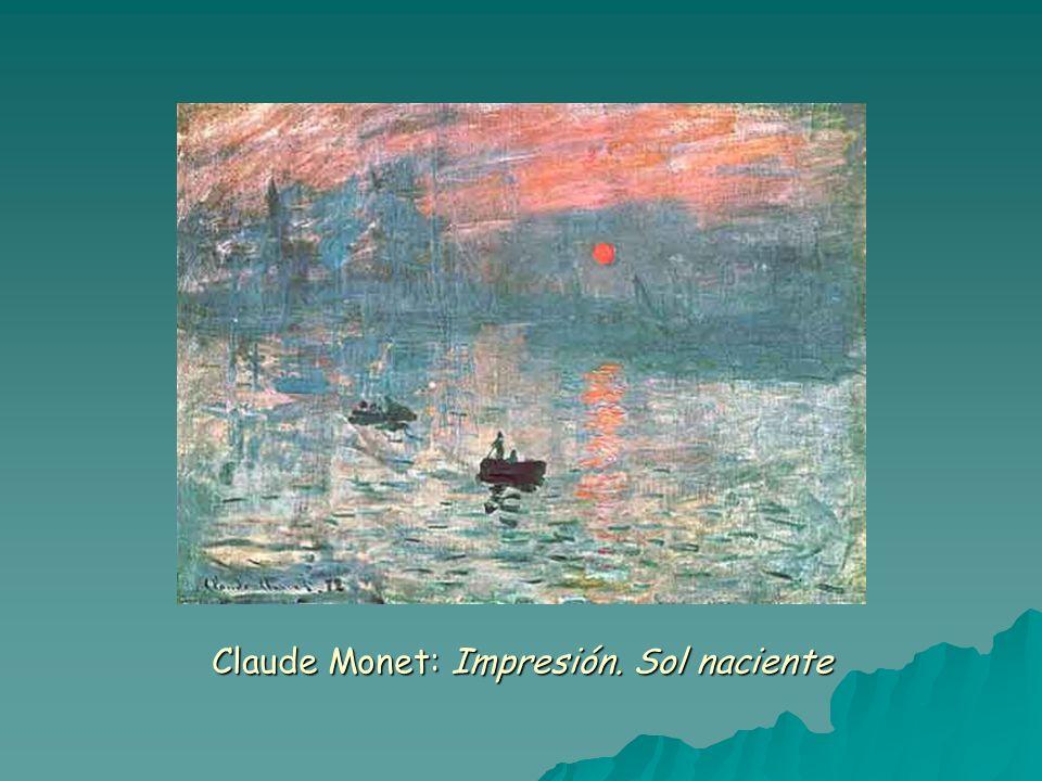 Claude Monet: Impresión. Sol naciente