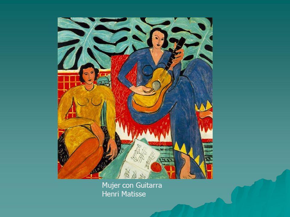 Mujer con Guitarra Henri Matisse