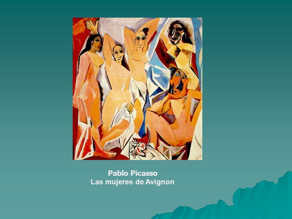 Pablo Picasso Las mujeres de Avignon
