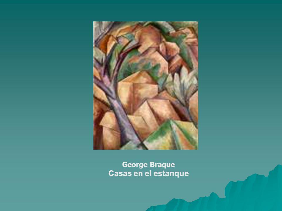 George Braque Casas en el estanque