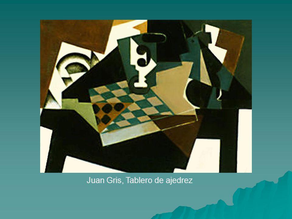 Juan Gris, Tablero de ajedrez