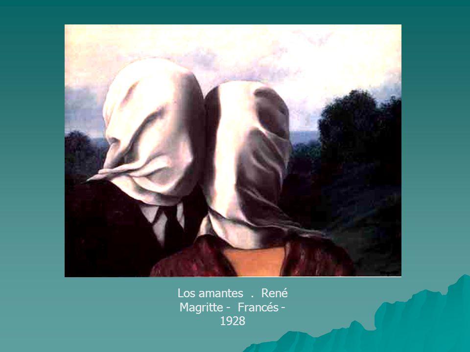 Los amantes. René Magritte - Francés - 1928