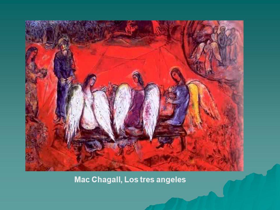Mac Chagall, Los tres angeles