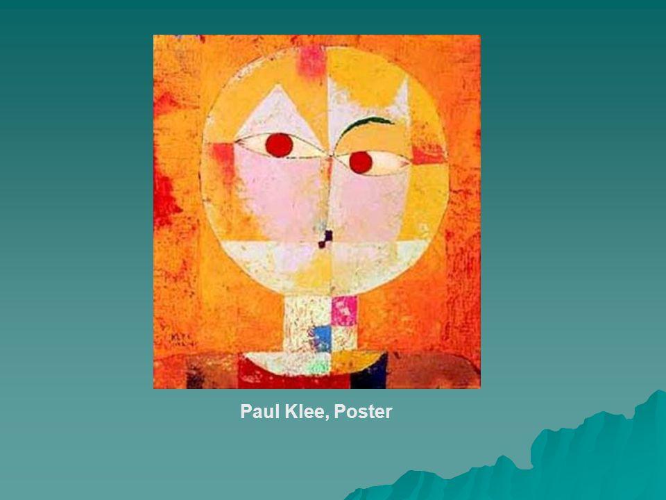 Paul Klee, Poster