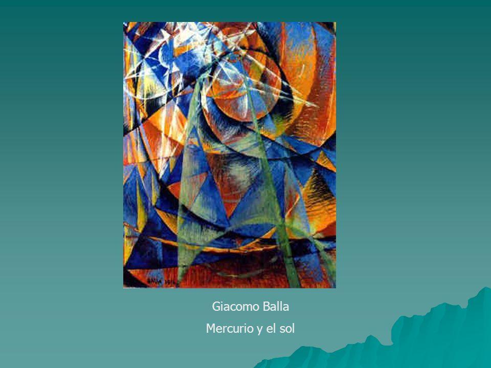 Giacomo Balla Mercurio y el sol
