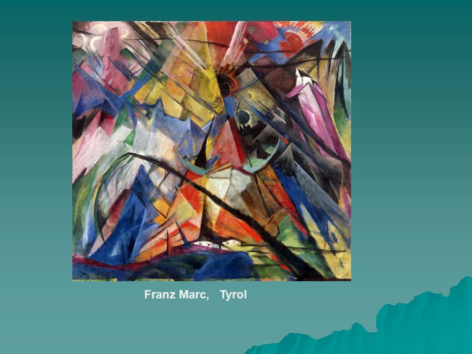 Franz Marc, Tyrol