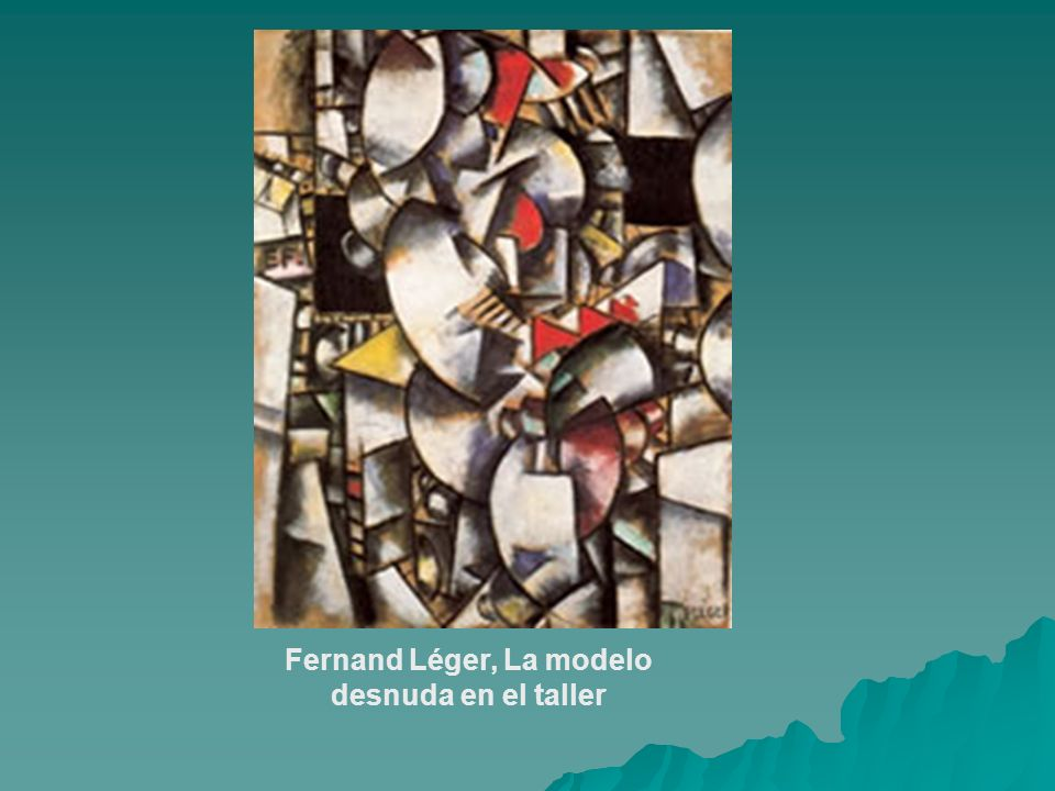 Fernand Léger, La modelo desnuda en el taller