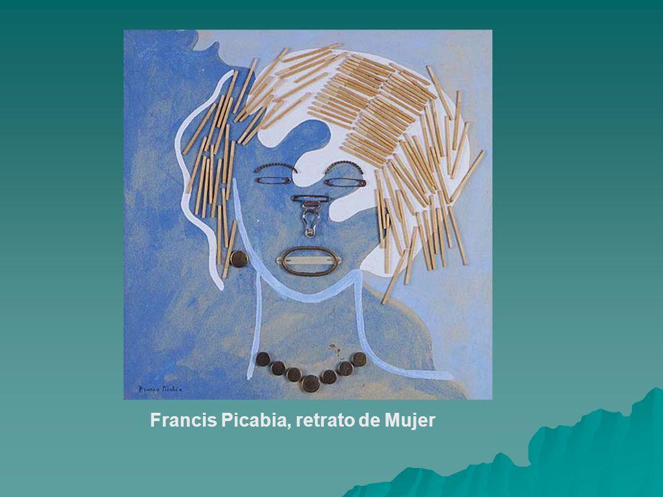 Francis Picabia, retrato de Mujer