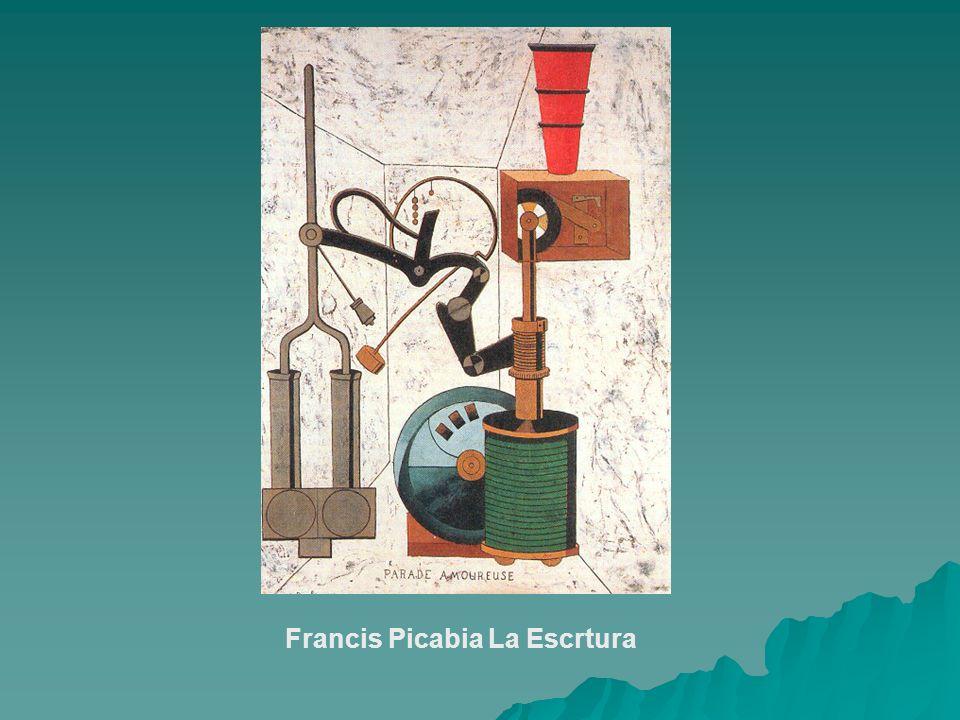 Francis Picabia La Escrtura