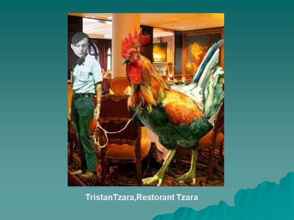 TristanTzara,Restorant Tzara