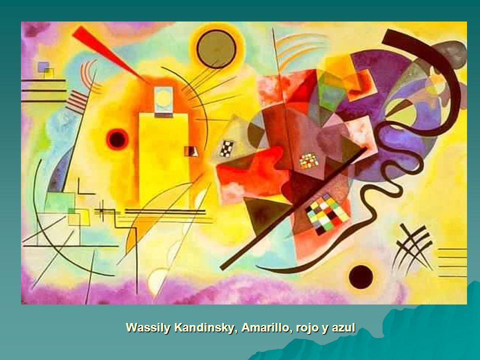 Wassily Kandinsky, Amarillo, rojo y azul