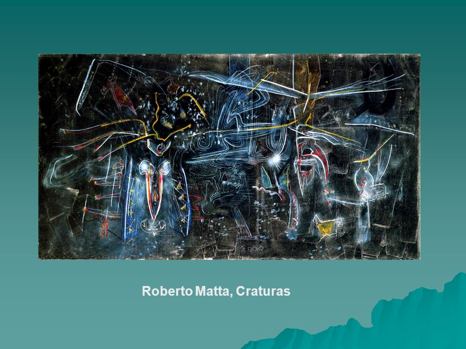 Roberto Matta, Craturas