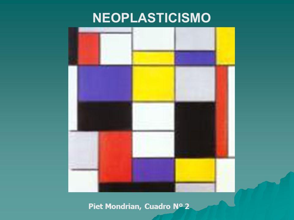 Piet Mondrian, Cuadro Nº 2 NEOPLASTICISMO