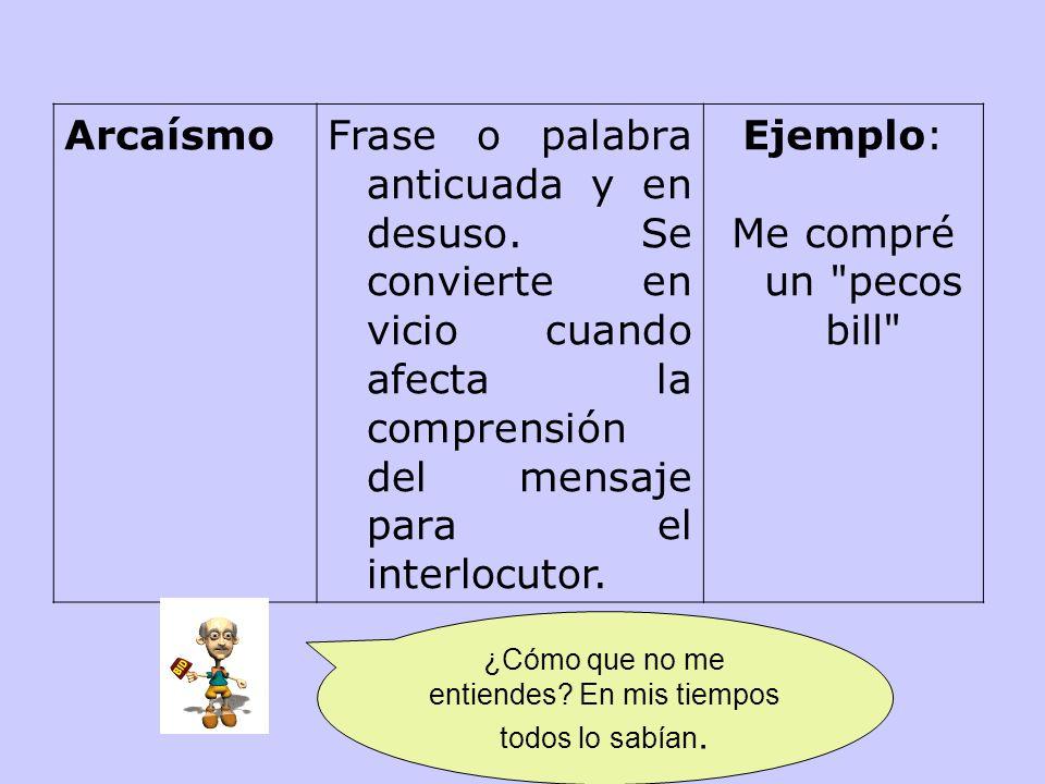 Barbarismo El término barbarismo tiene, según el Diccionario de la RAE, las siguientes acep- ciones: 1.- Vicio del lenguaje, que consiste en pronuncia