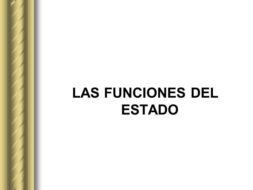 3. Descripción y análisis de las funciones del Estado (Jurisdiccional y Ejecutiva)
