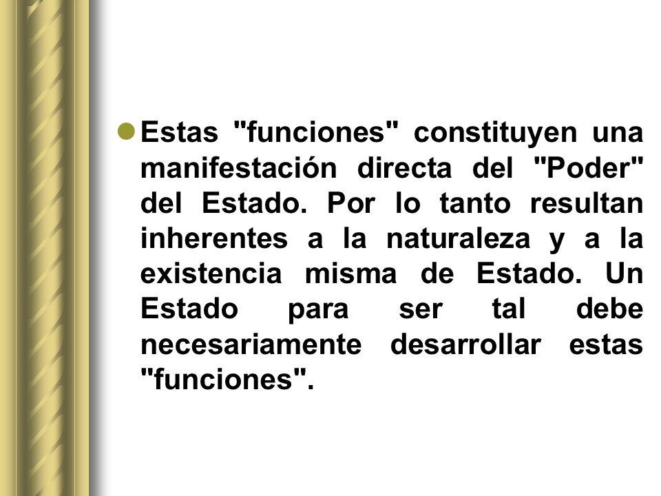 2.3.Las tres funciones del Estado desde el punto de vista formal.