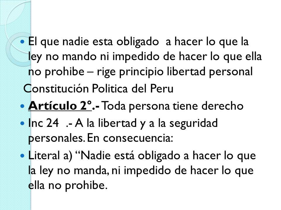 PRINCIPIOS GENERALES DEL DERECHO: El otro método de integración jurídica es la recurrencia a los principios generales del derecho.